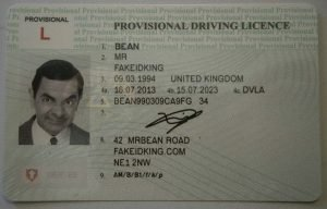 Provisional Licence